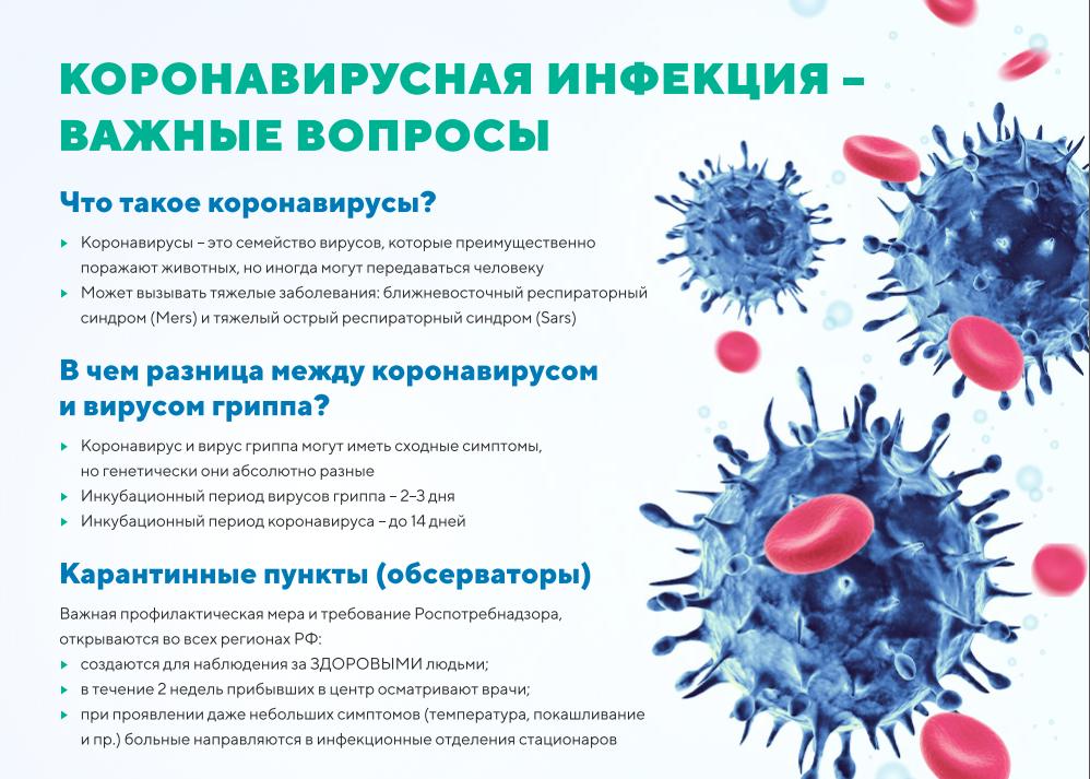 Коронавирусная инфекция - что такое